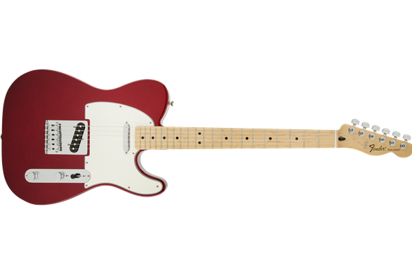 Standard Telecaster, Maple Fingerboard, Candy Apple Red