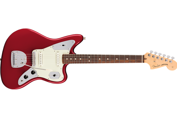 American Pro Jaguar, Rosewood Fingerboard, Candy Apple Red