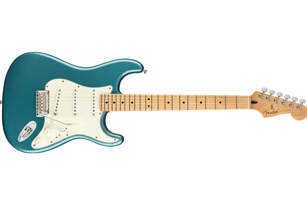 Player Stratocaster, Maple Fingerboard, Tidepool