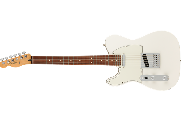 Player Telecaster Left-Handed, Pau Ferro Fingerboard, Polar White