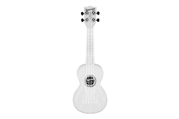Kala Waterman Transparent Ice Soprano Ukulele