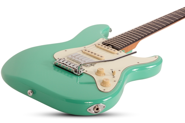 Nick Johnston Traditional H/S/S 6-String Electric Guitar, Atomic Green