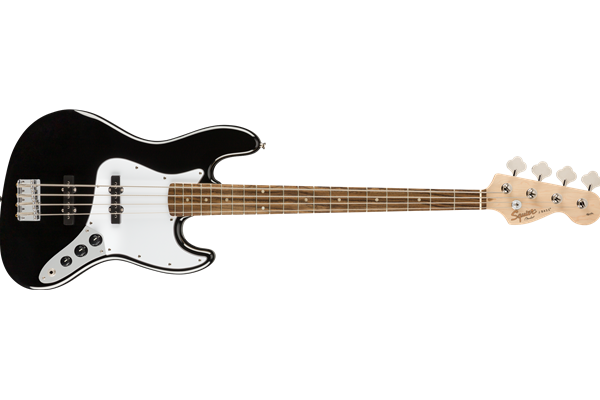 Affinity Series™ Jazz Bass®, Laurel Fingerboard, Black