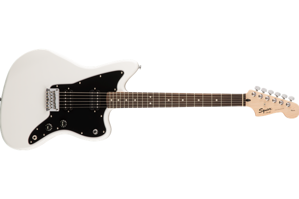 Affinity Series Jazzmaster HH, Laurel Fingerboard, Arctic White