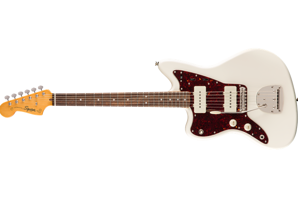 Classic Vibe '60s Jazzmaster® Left-Handed, Laurel Fingerboard, Olympic White