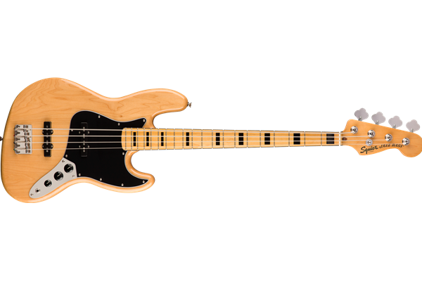Classic Vibe '70s Jazz Bass, Maple Fingerboard, Natural