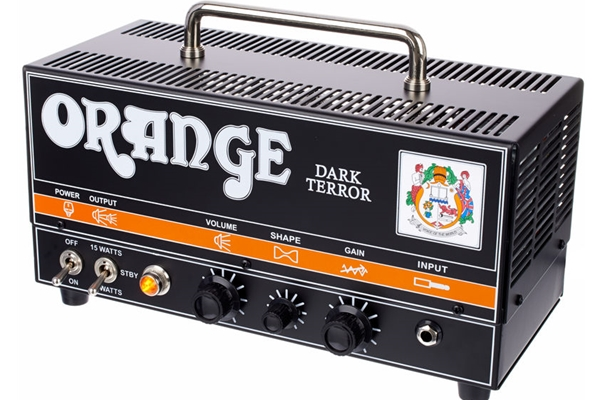 Orange Dark Terror 15W Tube Head