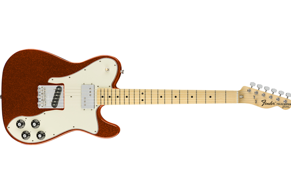 Fender Limited Edition '72 Tele Custom, Maple fingerboard, Orange Sparkle