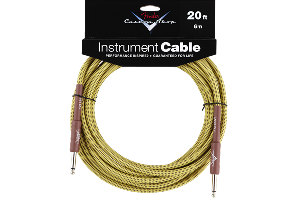 Fender Custom Shop Cable, 20', Tweed