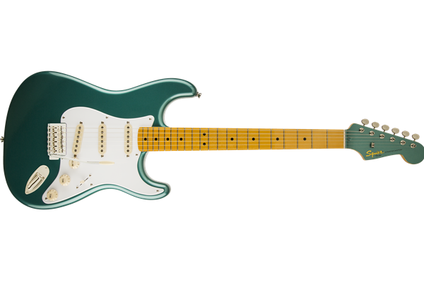 Classic Vibe Stratocaster '50s, Maple Fingerboard, Sherwood Green Metallic with Matching Headcap
