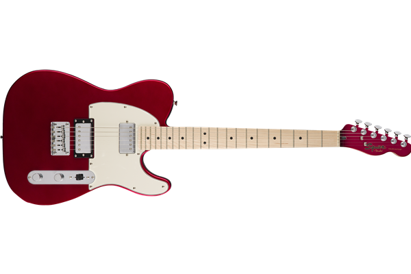 Contemporary Telecaster HH, Maple Fingerboard, Dark Metallic Red