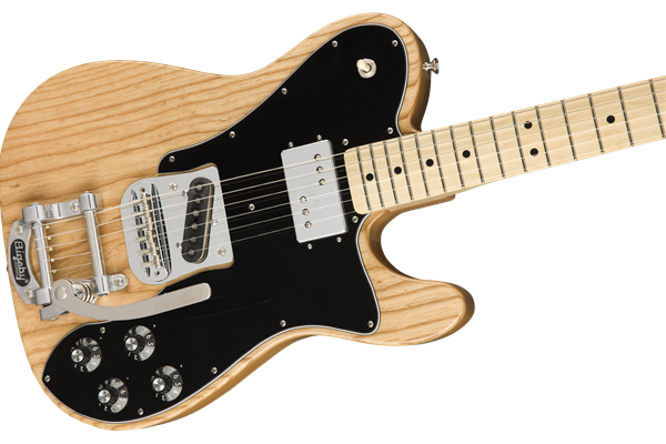Fender LTD '72 Telecaster Custom w/ Bigsby Bridge, Natural Ash body, Maple Fretboard
