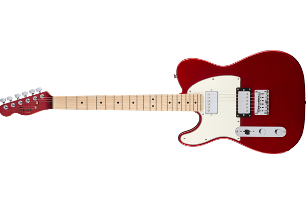 Contemporary Telecaster® HH Left-Handed, Maple Fingerboard, Dark Metallic Red