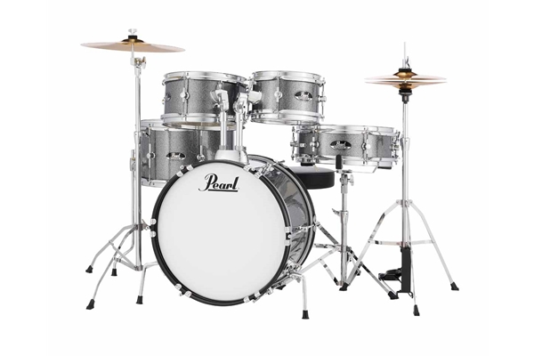 Pearl Roadshow Jr. | 8x5TT,10x5.5TT,13x10FT,12x4SD,16x10BD w/Hardware. Cymbals & Sticks Grindstone